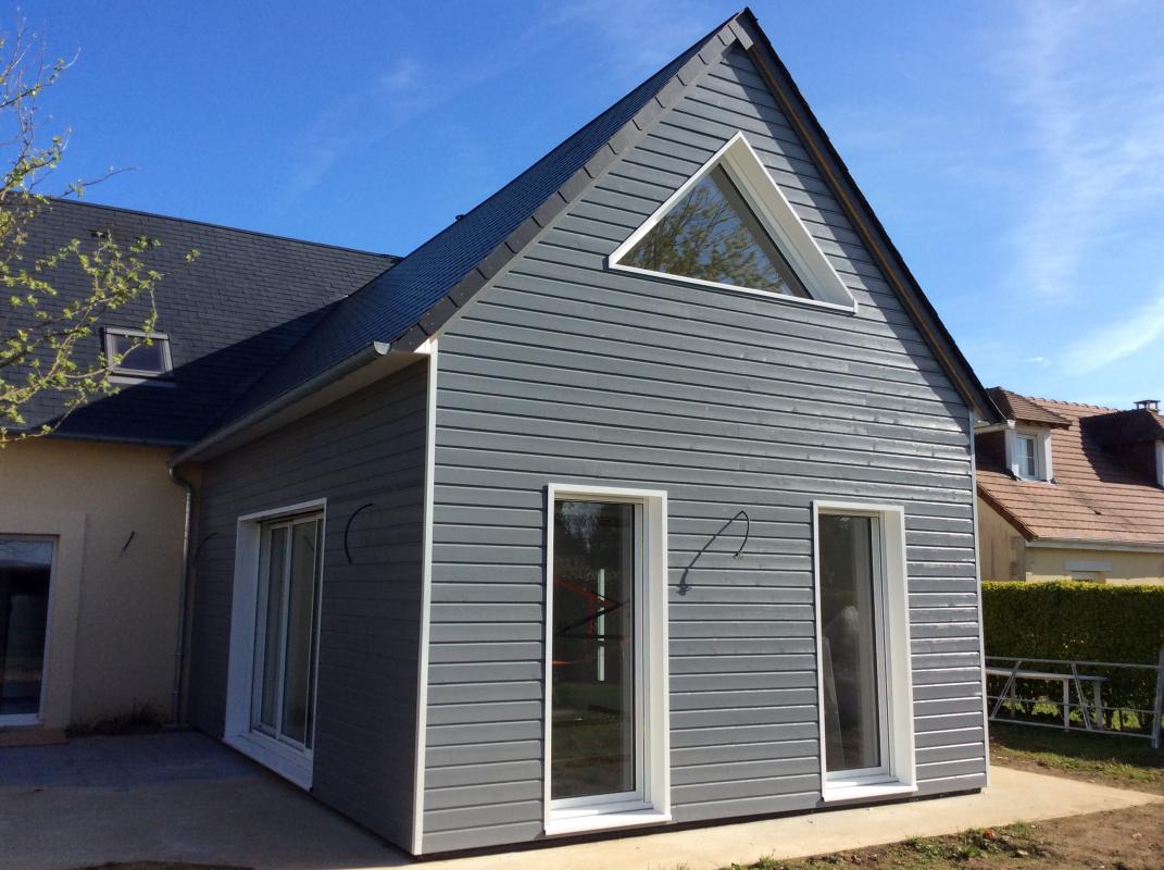 Maison En Bois Normandie retour sur trois mois d'extensions en ossature bois en