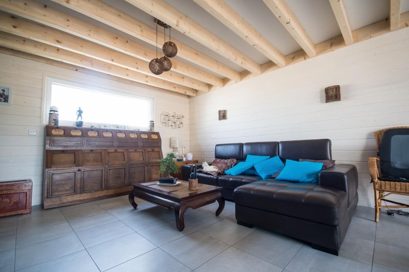 Maison ossature bois calvados 100 images extension en for Interieur maison ossature bois