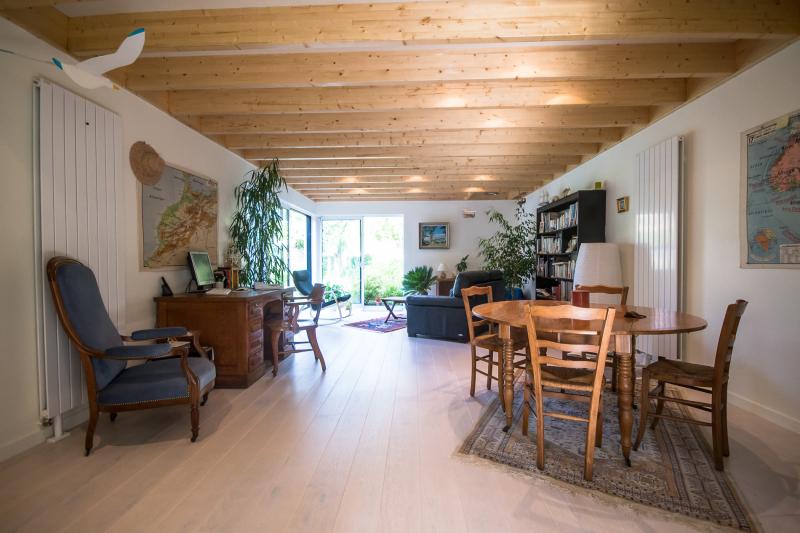 Extension en ossature bois caen calvados maison d - Interieur maison ossature bois ...
