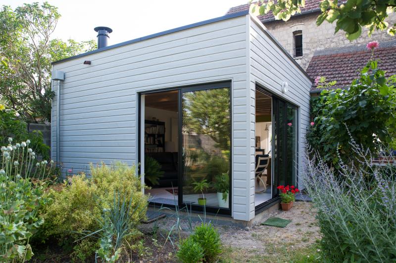 extension en ossature bois caen calvados maisons d. Black Bedroom Furniture Sets. Home Design Ideas