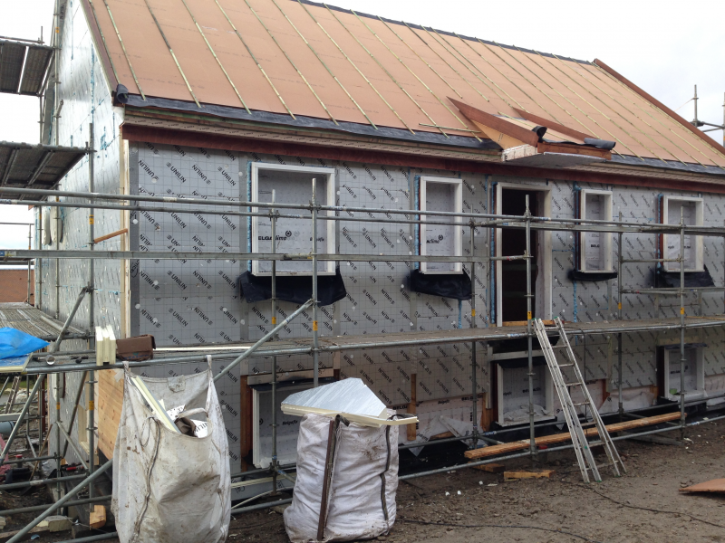 Maison en bois massif triel sur seine maisons d - Les differentes etapes de construction d une maison ...