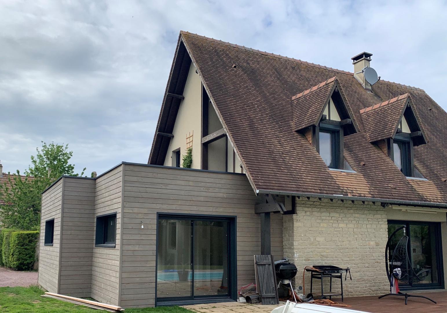 Devis Extension Maison à Nevers ▷ Agrandissement Bois, Acier, Parpaing