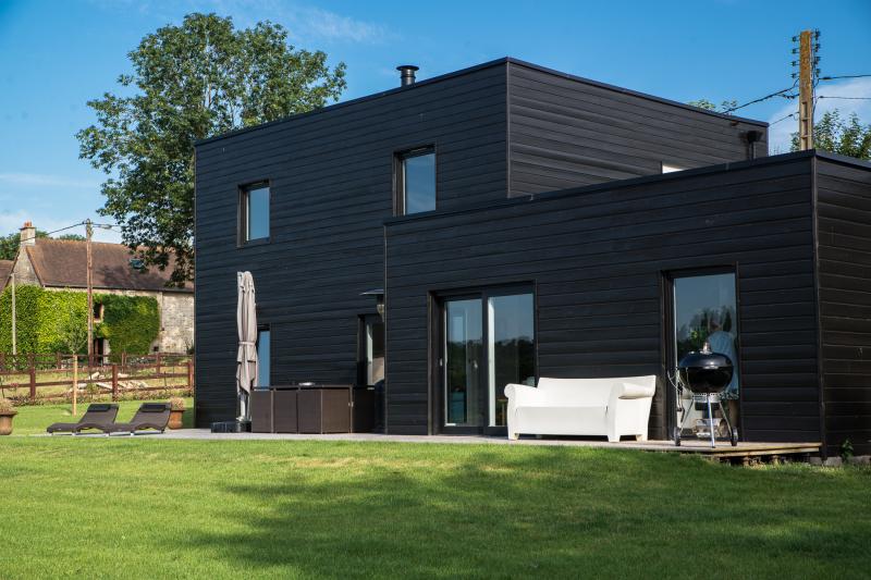Maison Bois Calvados - Maison en bois massifà Mouen Calvados Maisons d'intérieurà Caen, ossature bois et extension