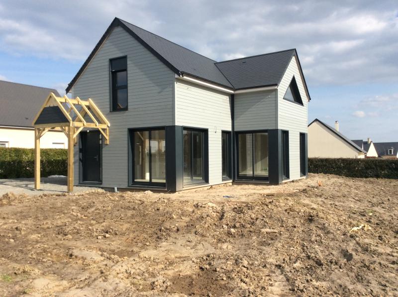 Construction d 39 une maison ossature sybois bayeux for Aller a la maison